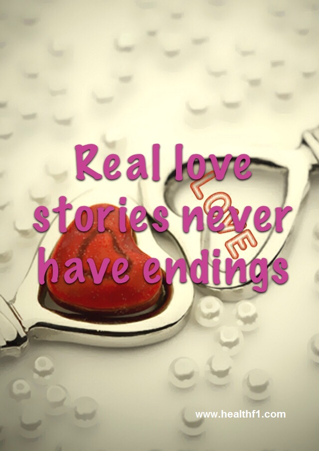 A Beautiful Love Quote Saying Real Stories Never Have Endings IPhone And Android Mobile Wallpaper Beautifully Embedded On The Heart Shaped