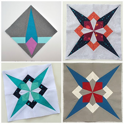 Star Thistle, Twiggy and Opal, Puppilalla, modern quilting, Blog Hop, Sirrus Solids, cloud 9 fabrics