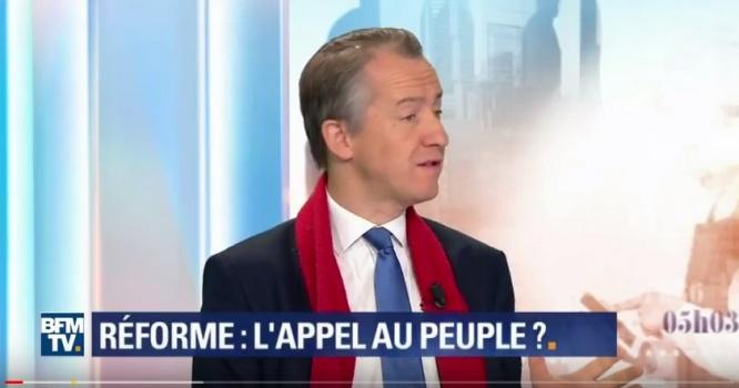 Christophe Barbier, éditorialiste politique de BFMTV