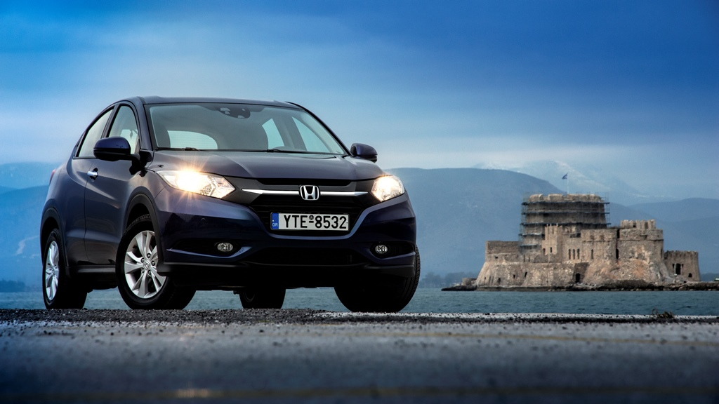 Honda%2BHR V%2BAction%2B%25285%2529 Νέο Honda HR-V : Το πολυμορφικό SUV