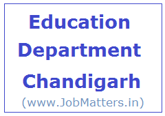 image : Department of Education, Chandigarh Admisnistration @ JobMatters.in