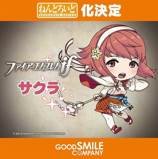 """Sakura de """"Fire Emblem If"""""""