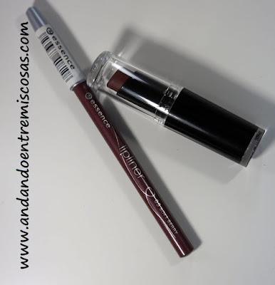 Labial Mocha-licious y lápiz Soft Berry