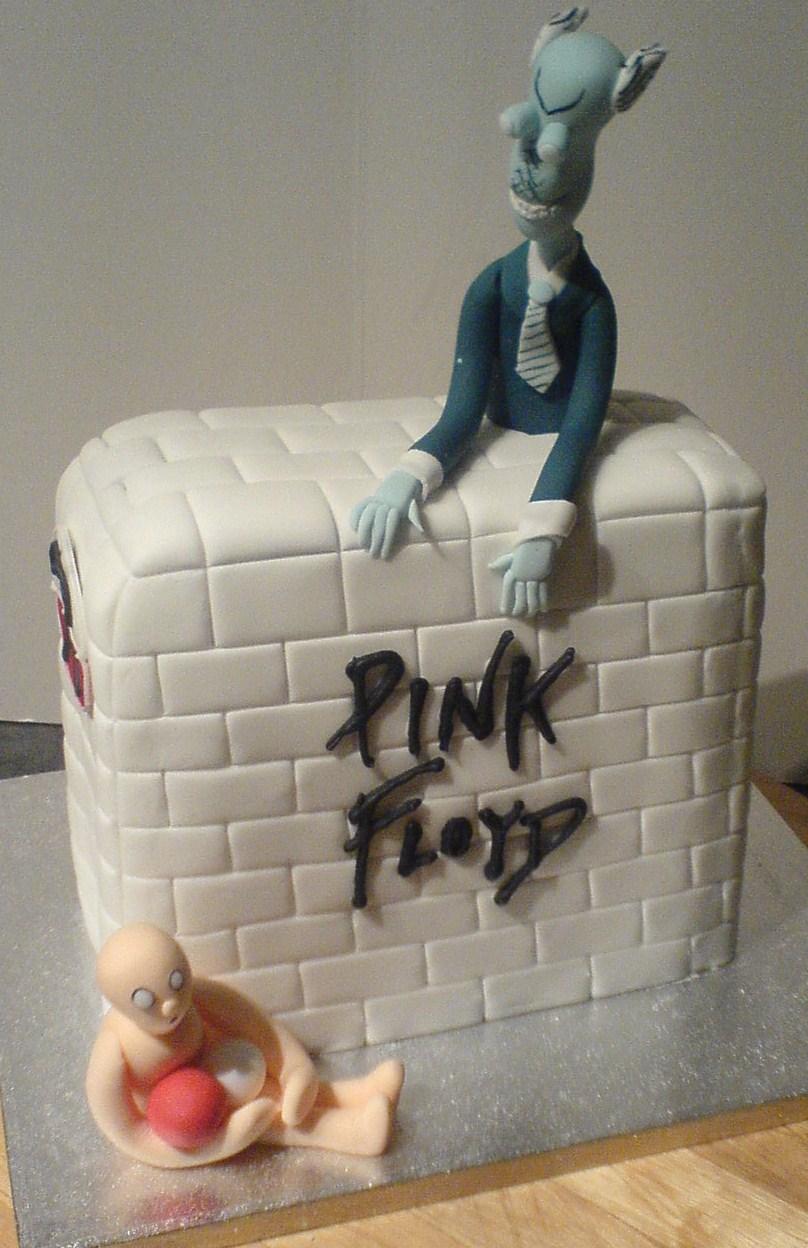 Cozzmic Cakes Pink Floyd The Wall Cake