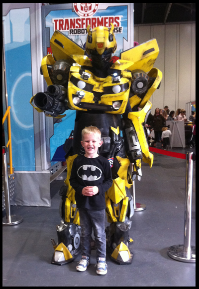 Bumblebee at Kidtropolis