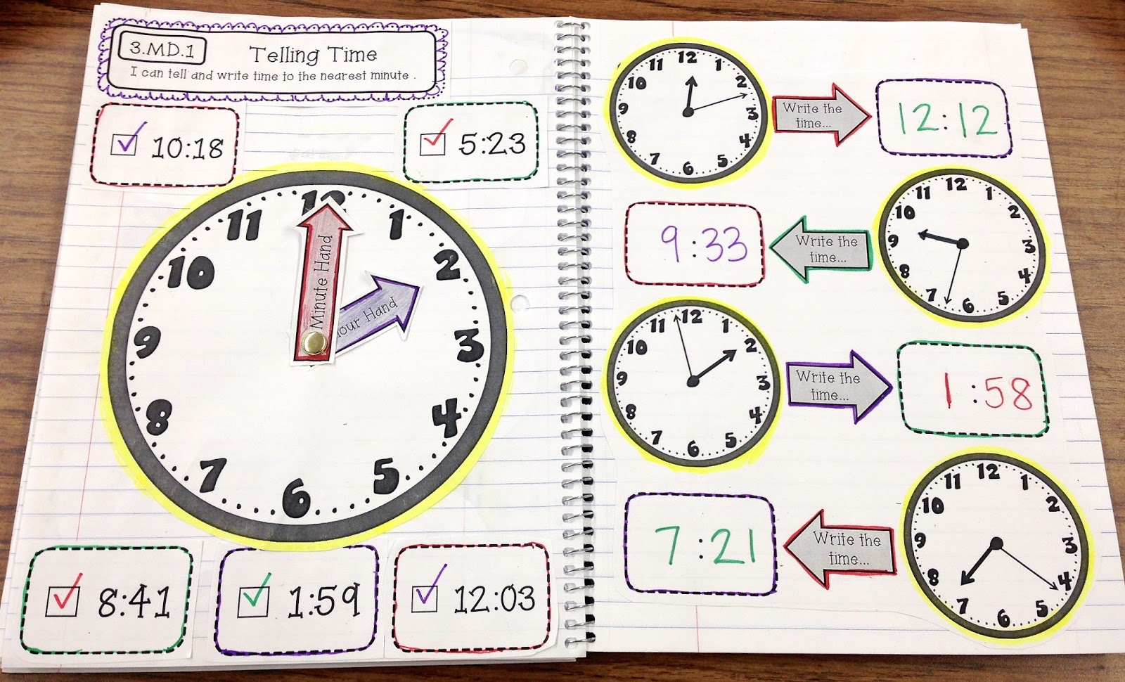 Telling Time Games For 3rd Grade