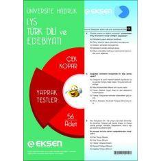 Eksen LYS Türk Edebiyatı Çek Kopar Yaprak Testler