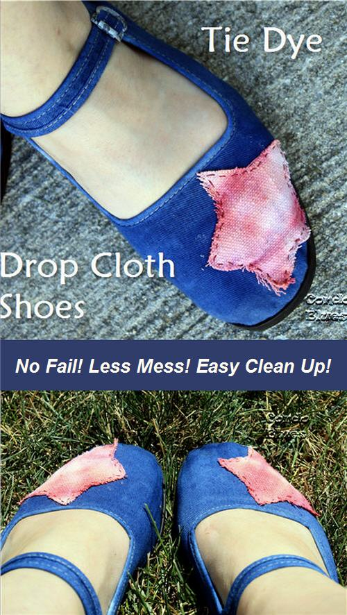 how to dye canvas shoes