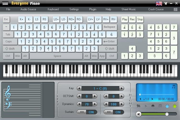 Cara Mudah Bermain Piano Di PC Menggunakan Softwere