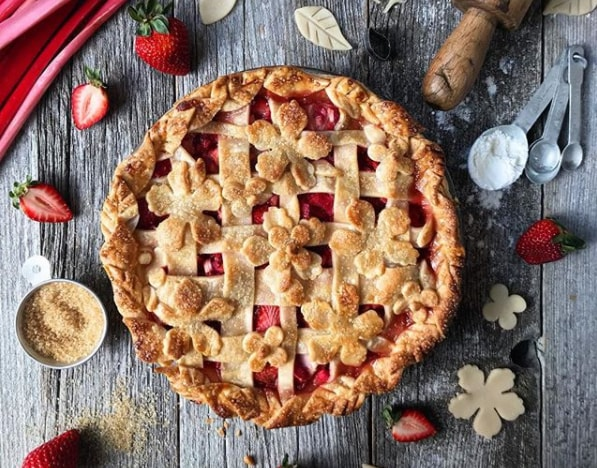 Resep Strawberry Rhubarb Pie