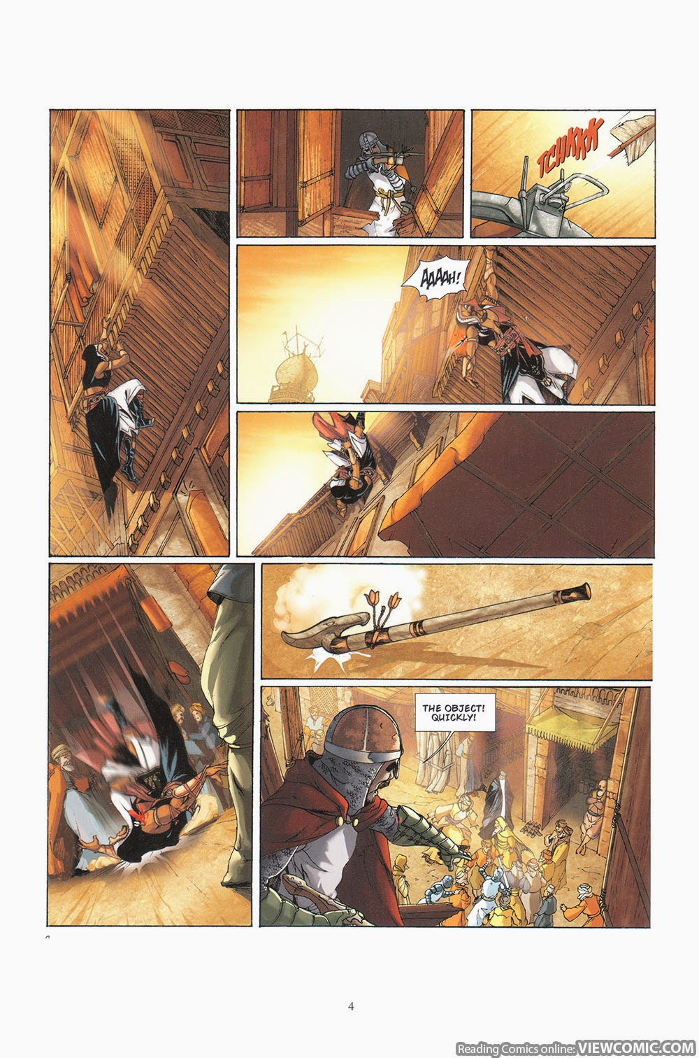 Assassin S Creed 04 Hawk 2013 Viewcomic Reading Comics