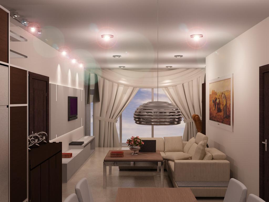 Desain  Interior  Apartemen Studio Minimalis  Apartment