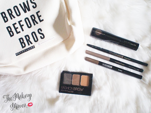 THE MAKEUP MAVEN - A BEAUTY BLOG BY SABS HERNANDEZ: Eyebrow Week Part 2 Day 4: The Maybelline Eyebrow Collection