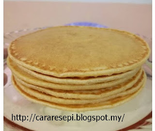 Pancake Mudah Dan Gebu
