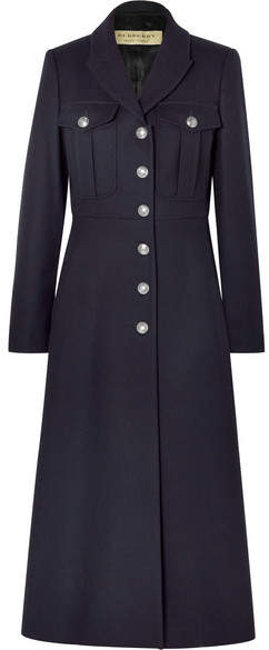 Burberry - Wool Coat – Navy