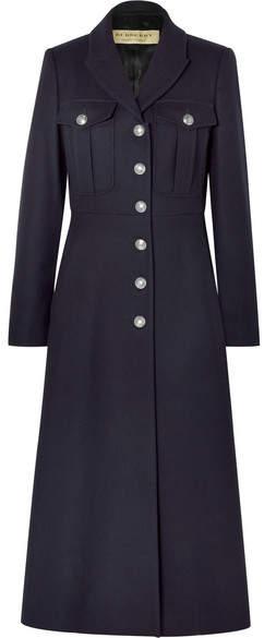 Burberry - Wool Coat – Navy