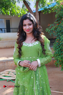 Actress Manaali Rathod Latest Pictures in Green Dress  0003