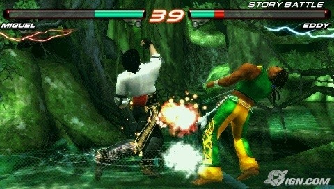 Unleashed Tekken 6 for android game ISO for PPSSPP (Mobile&PC)
