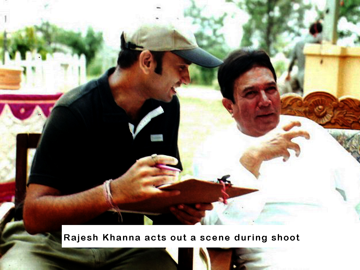 On Sets Rajesh Khanna