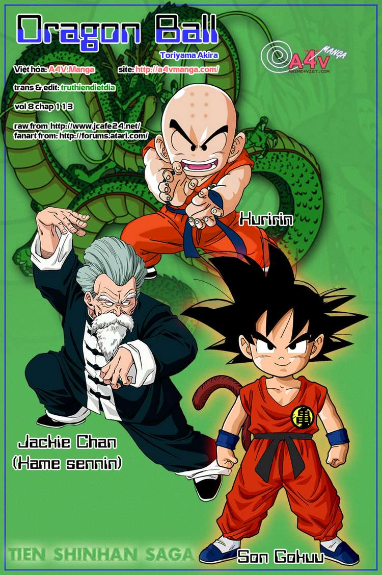 Dragon Ball chap 113 trang 16