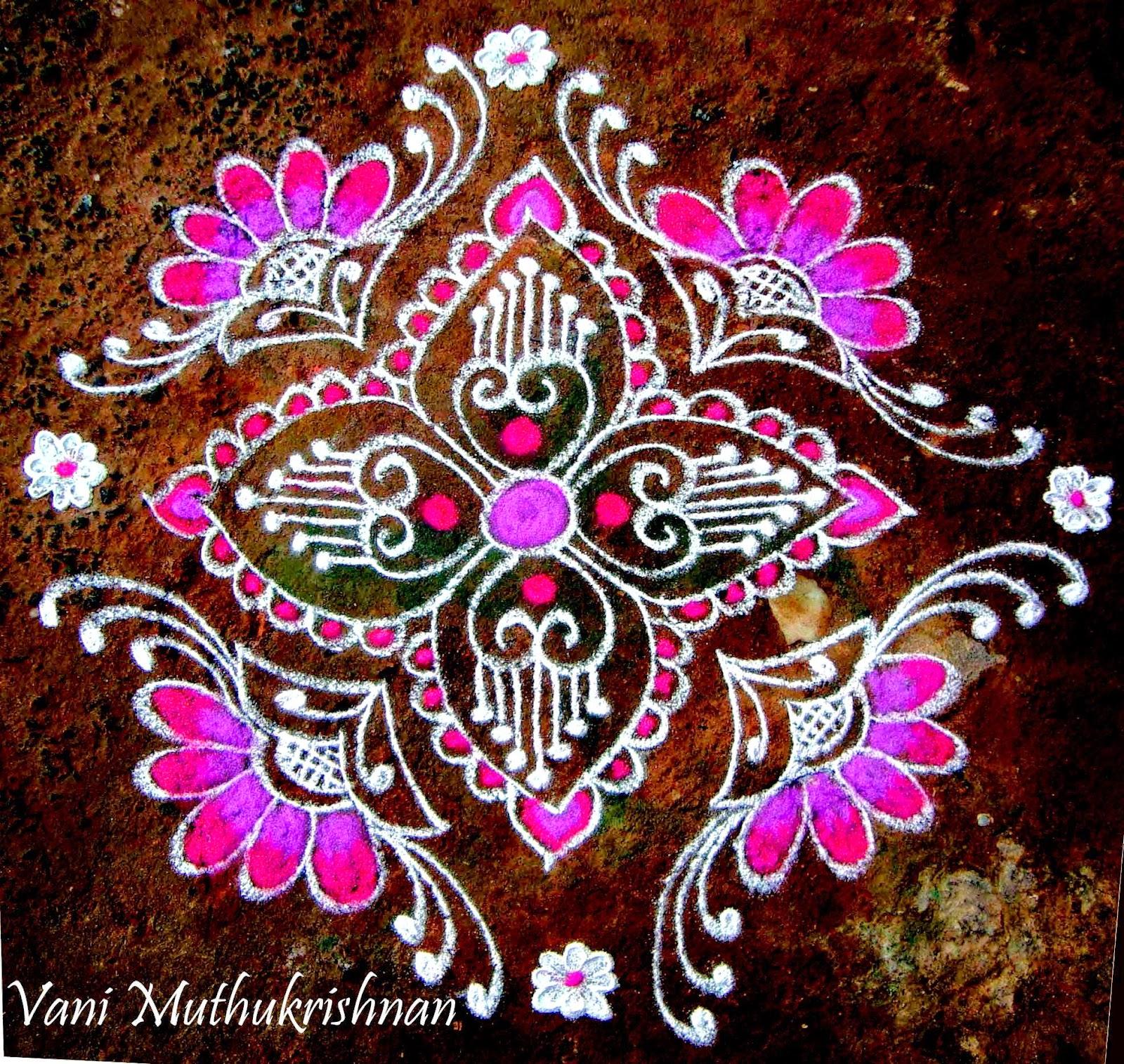 Kolam Designs 26