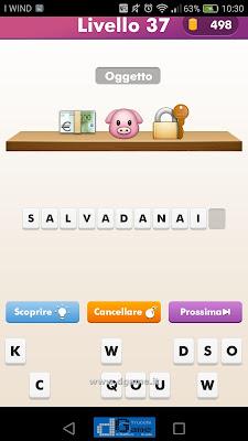 Emoji Quiz soluzione livello 37