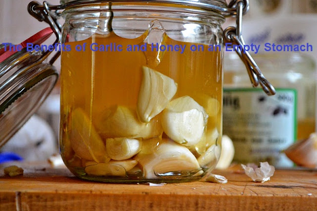 The Benefits of Garlic and Honey on an Empty Stomach