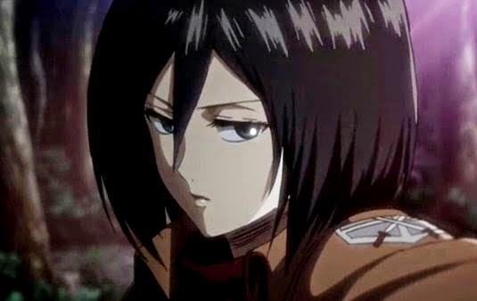 Mikasa Ackerman - Karakter wanita cool keren cantik