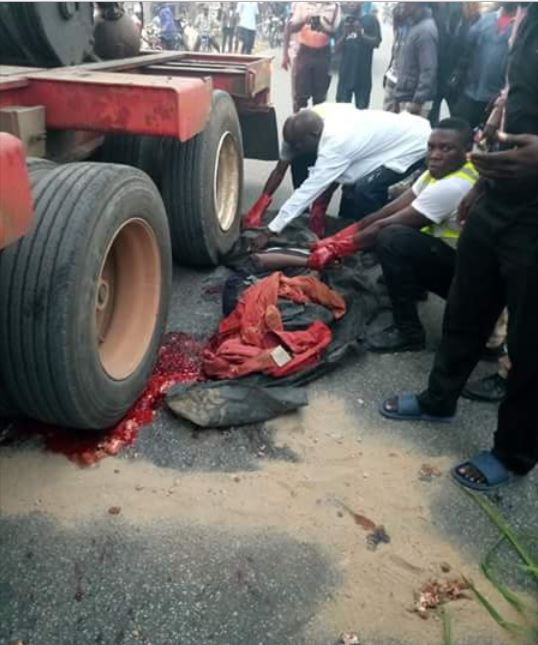 Horror: Trailer Driver Mistakenly Crushes His Own Conductor To Death [See photos]