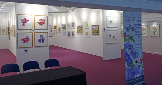 Awards and CBMs at the Society of Botanical Artists Annual Exhibition 2017