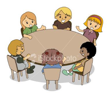 Round school lunch table myideasbedroom com