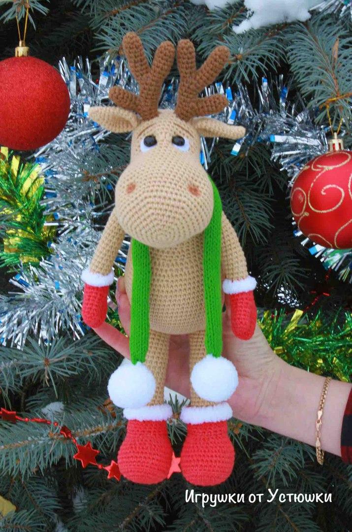 Amigurumi Reindeer Crochet Pattern   Supergurumi   1080x715