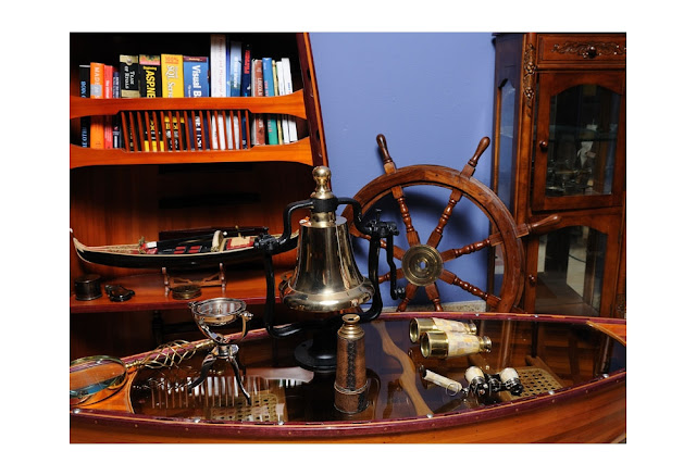 Ship Wheel and Nautical Decor