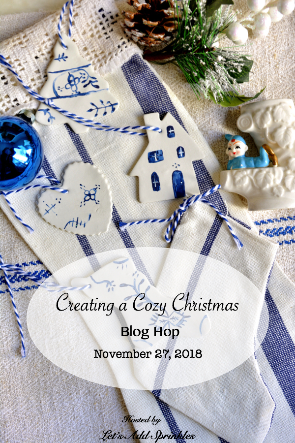 Easy Vintage Inspired Christmas Craft