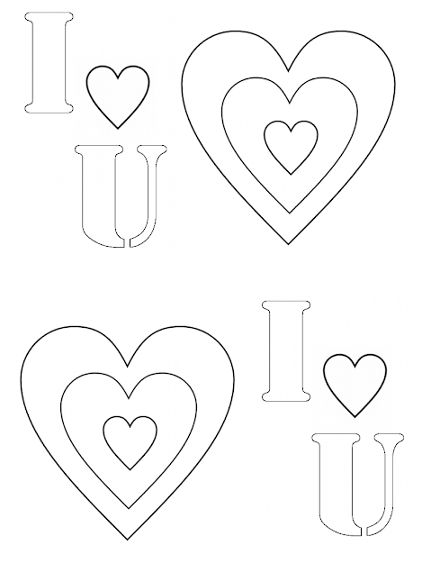 You Hearts Colouring Pages Page