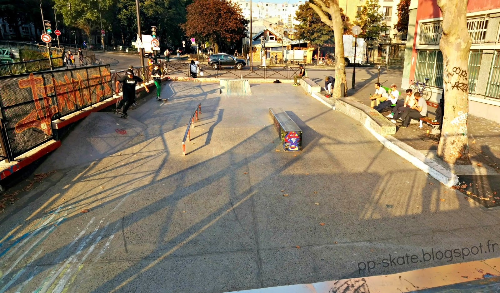 Skatepark Jemmapes après travaux