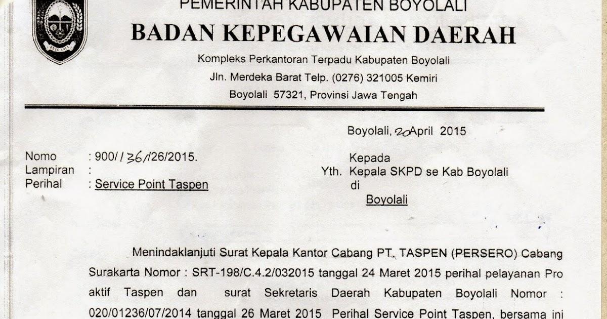 BIDANG SMP DISDIKBUD KABUPATEN BOYOLALI: SERVICE POINT