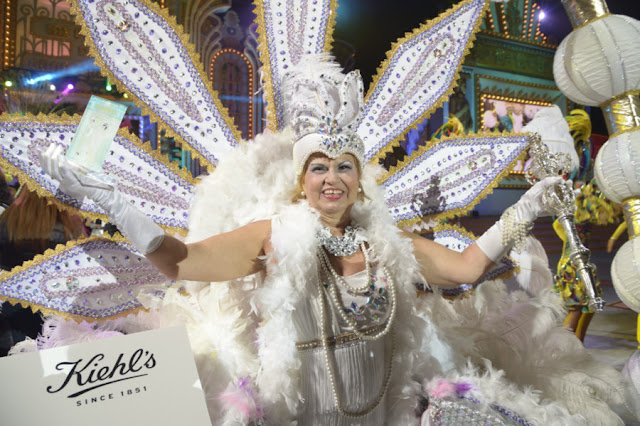Carmen Martín Ceballos gran dama Carnaval Las palmas 2016