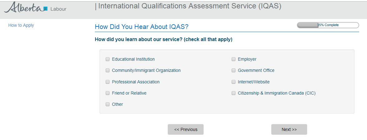 katepaquete: IQAS Application