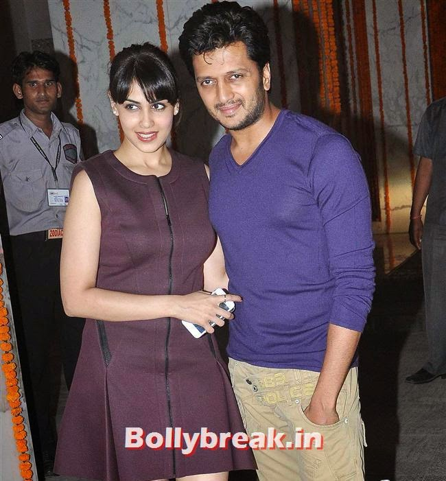 Genelia D'Souza and Ritesh Deshmukh, Bollywood Celebs at Kangana Ranaut Birthday Bash Pics