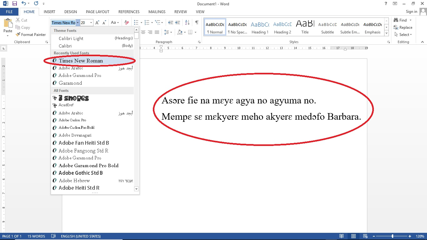 Download Fonts For Word >> Download Akan Or Twi Font For Free Paqsoft Solutions