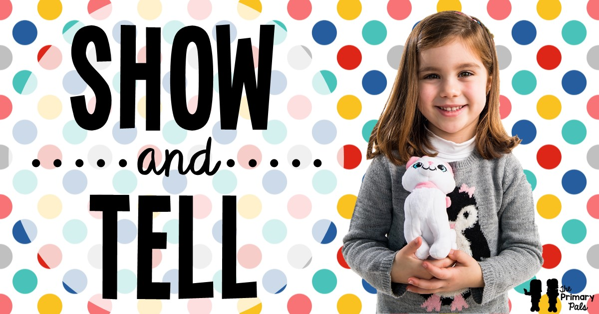 Not many teachers today find time in their busy schedules for weekly show-and-tell, but it can be a great way to help get to know students and for students to begin to connect to one another at the beginning of the year.