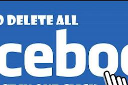Delete All Post In Facebook