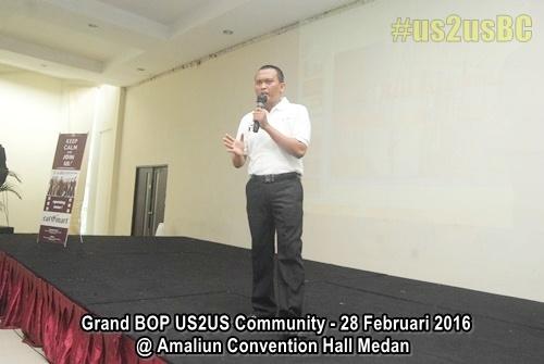 Grand BOP US2US Medan USTOUS Community Kang Cipto Sucipto Hadinata Didik Bhaoeth