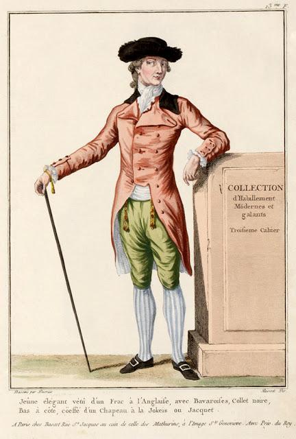 Theduchessindiamonds Men S Fashion Plates 1770 80s French
