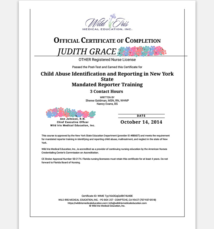 Nurse Jg Nclex Rn Application For New York State