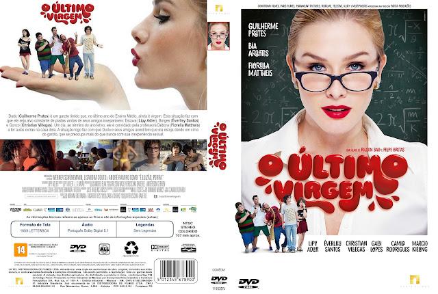 Capa DVD O Último Virgem