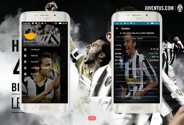 BBM Mod Tema Juventus v2.13.1.14 Apk