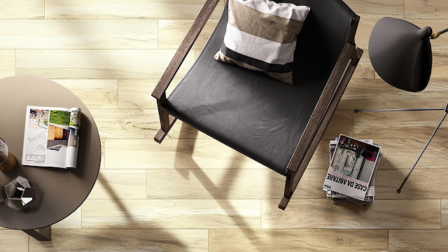 Italian porcelain tile for living room with PLUS collection